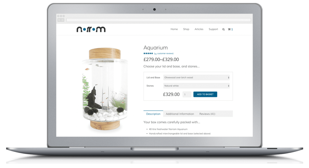 Norrom Website Design